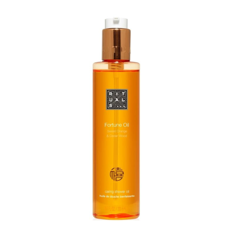 Superb Rituals Fortune Oil Caring Shower Oil 200ml   Feelunique.com