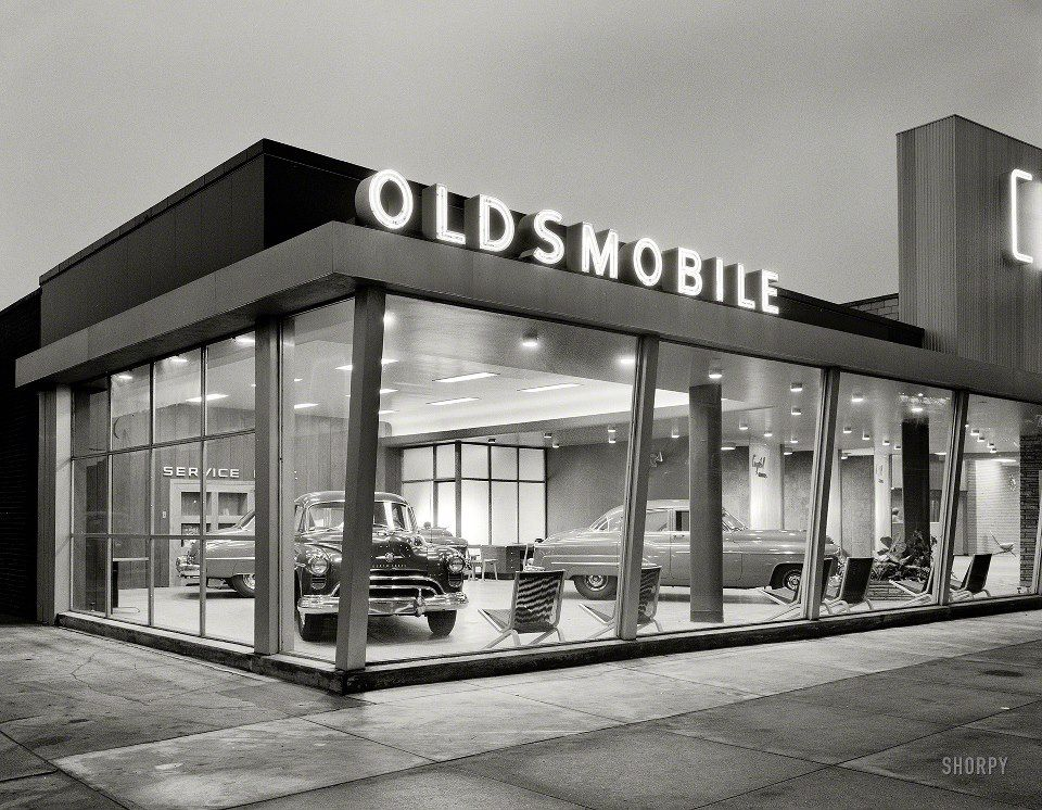 What ever happened to The Olds! Car dealership, Car