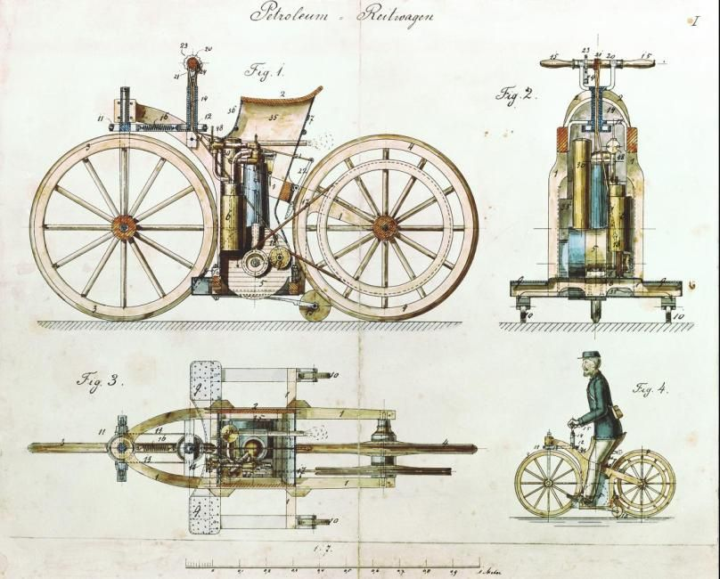 In 1886, Karl Benz invented the world\'s first motor car / patent ...