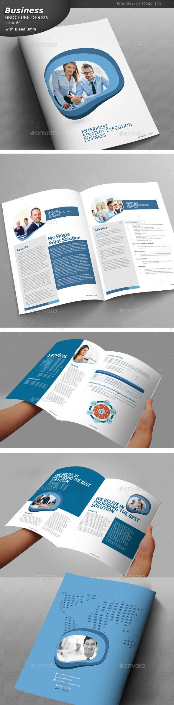 Clean Business Brochure   Fully editable brochure template     Clean Business Brochure   Fully editable brochure template   brochure   design  printDesign  template  BusinessBrochure  professional   ProfessionalBrochure