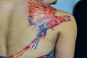 watercolor tattoo - - Yahoo Image Search Results