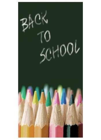 Back to school Motivdruck