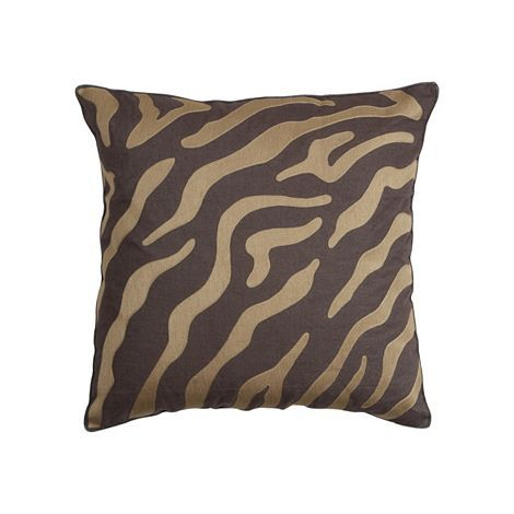 Ethanallen Cocoa Zebra Pillow Ethan Allen Furniture Impressive Ethan Allen Decorative Pillows