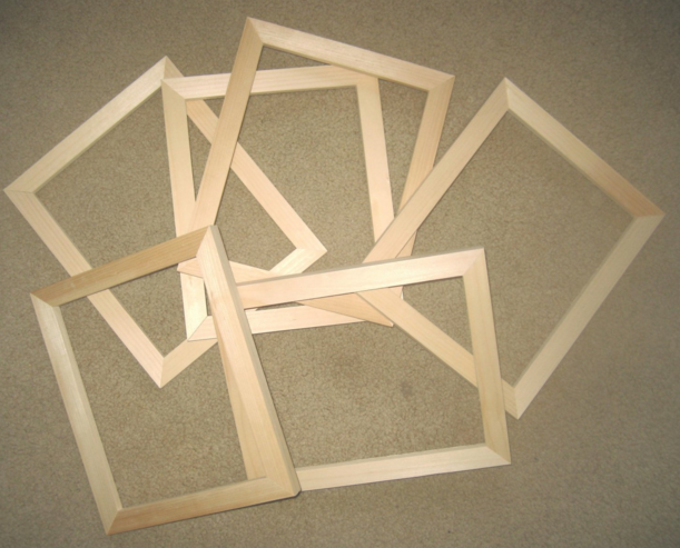 Unfinished Picture Frame Moulding Basic Photo Frame Work Was Not