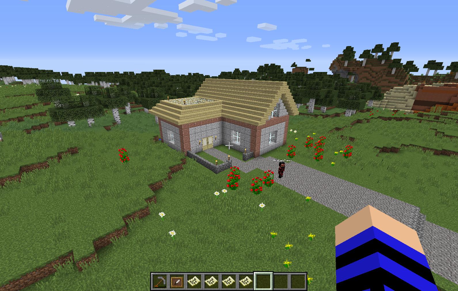 12.12.12.12:12 : LizC12 Minecraft: My 12rd build: L-Shaped