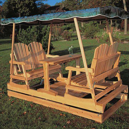 Deluxe Garden Glider Kit Rockler Woodworking Tools Outdoor