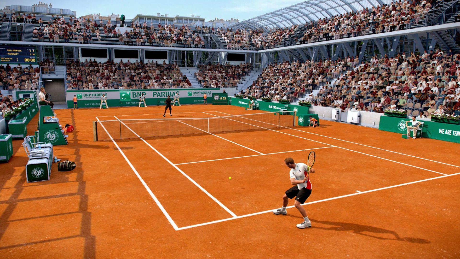 Tennis World Tour Roland Garros Edition Ad Ad Tour World Tennis Edition Tennis World Roland Garros Tennis Games