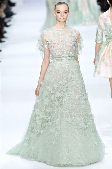fairytale inspired collection from Elie Saab - possibly the prettiest dresses I have ever seen.