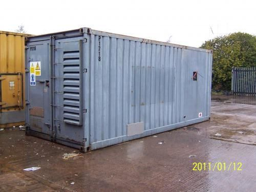 Cummins Stamford 500 KVA Used Diesel Generator Set