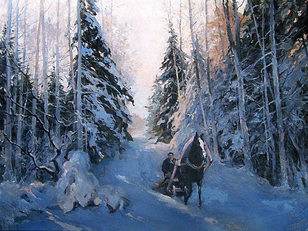 картинка художников о зиме с авторами является частью системы