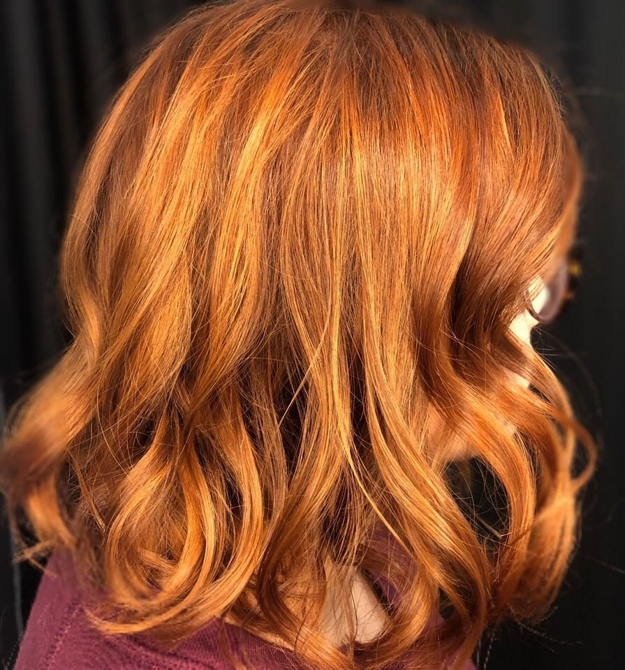 Just A Gloss To Amp Up The Copper In This Guest S Hair Done By