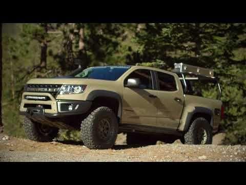 Chevy Colorado Zr2 Aev And Race Development Trucks Roll Into Sema