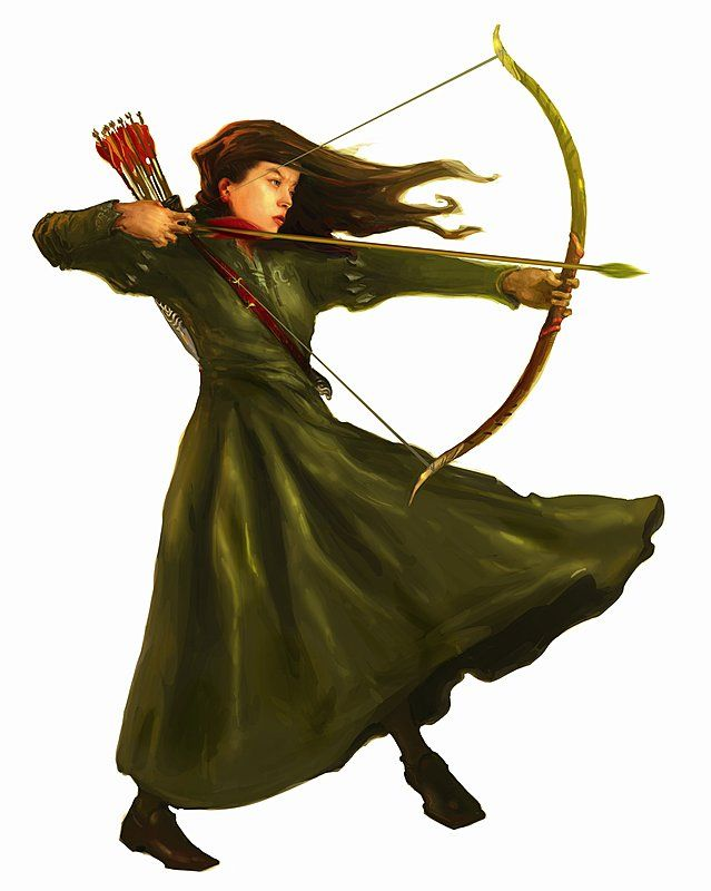 Artwork of Susan Pevensie for The Lion The Witch and The Wardrobe (2005)