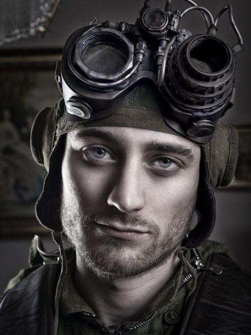 Photo of Jake Gyllenhaal as a steampunker? Tobey Maguire? Robert Pattinson? Daniel Radcli…