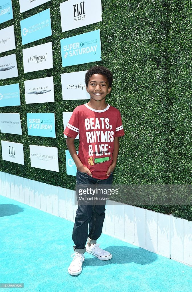 Actor Miles Brown attends OCRF's 2nd Annual Super Saturday LA on May 16, 2015 in Santa Monica, California.