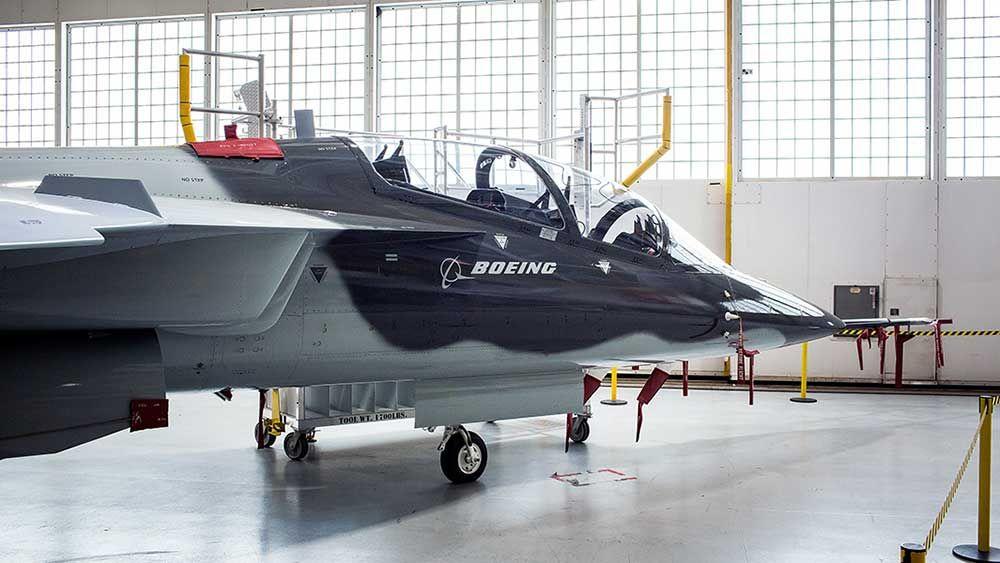 Boeing touts 21st century franchise tx trainer jet
