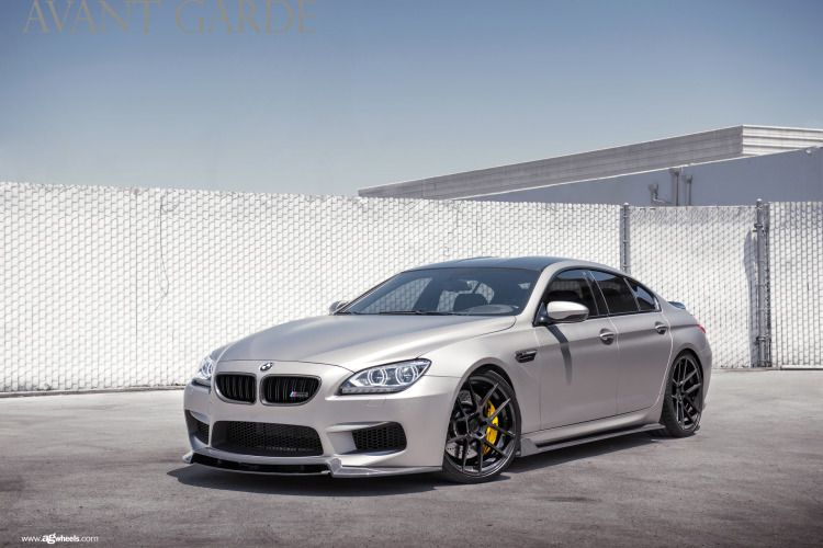 Cleanly Modded Bmw M6 Gran Coupe On Avantgarde Wheels Bmw M6