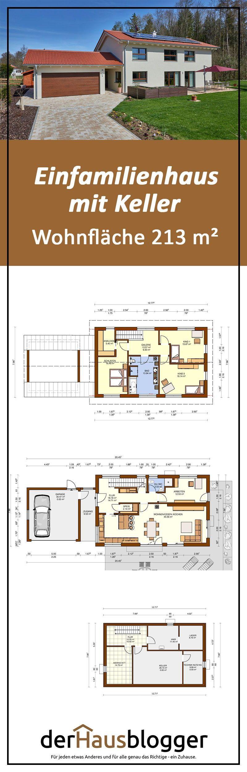 Küchendesign für bungalowhaus einfamilienhaus mit keller wohnfläche  m in