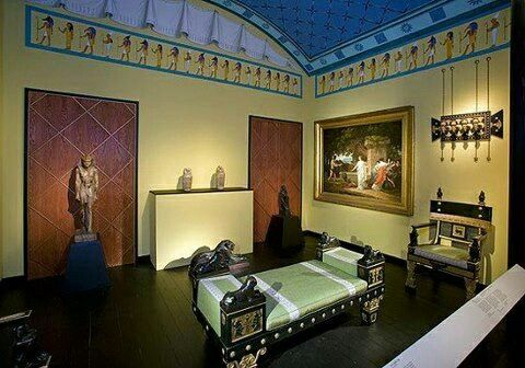 Ancient Egyptian Bedroom Interior Decor | @PharaohsLegacy | Luxury ...
