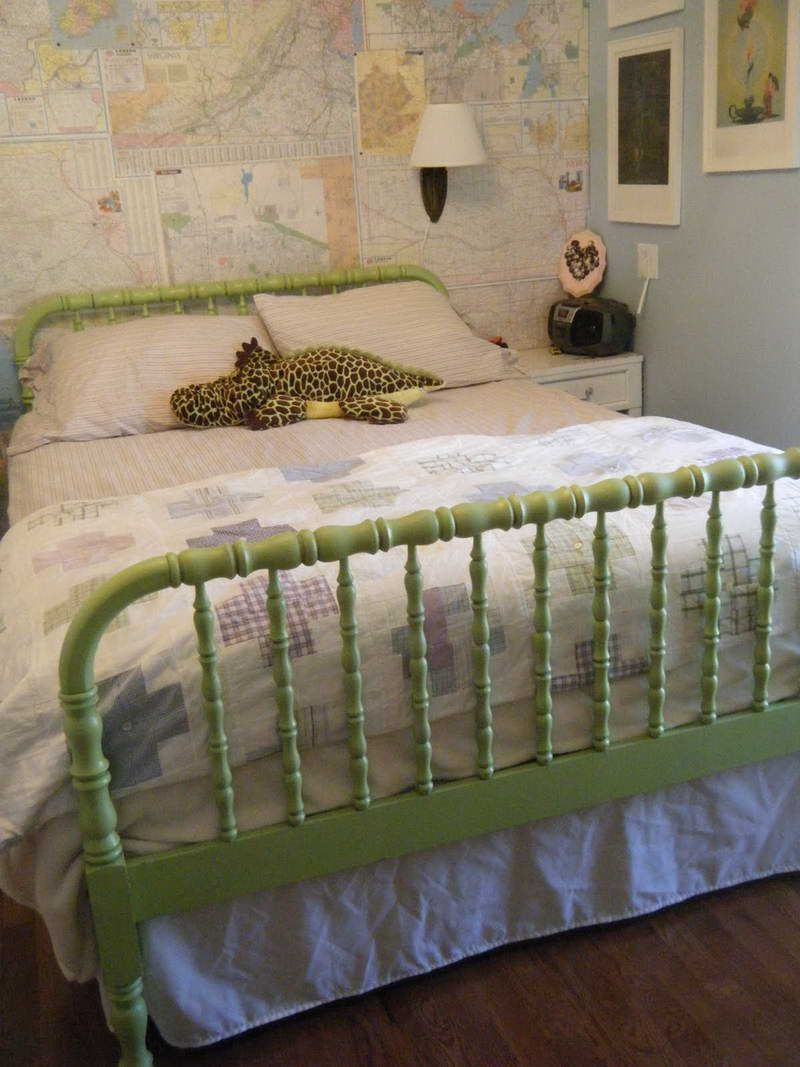 sweet jenny lind twin beds for kids room light green jenny lind twin bed design inspiration in sky blue wall painting kids be - Jenny Lind Twin Bed