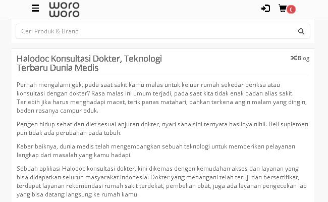 Konsultasi Dokter Online Dokter Terik Resep Dokter