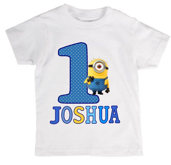 Personalized Despicable Me T-Shirt