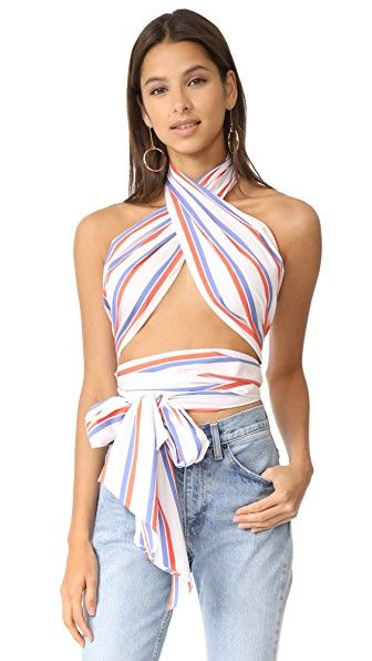 f264adf9dc6b6 MDS STRIPES EVERYTHING SCARF TOP.  mdsstripes  cloth