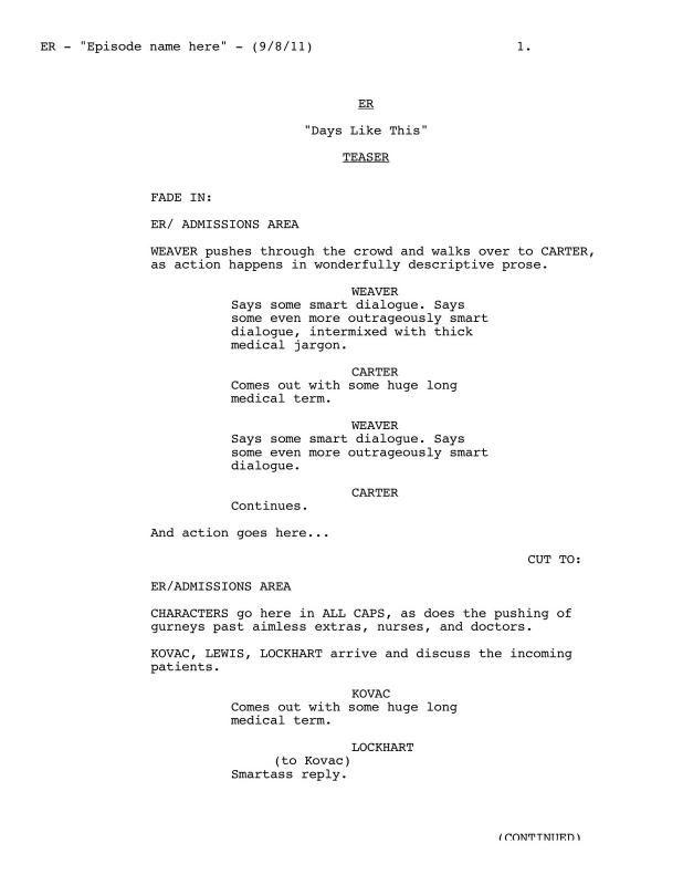 script writing template template pinterest script script