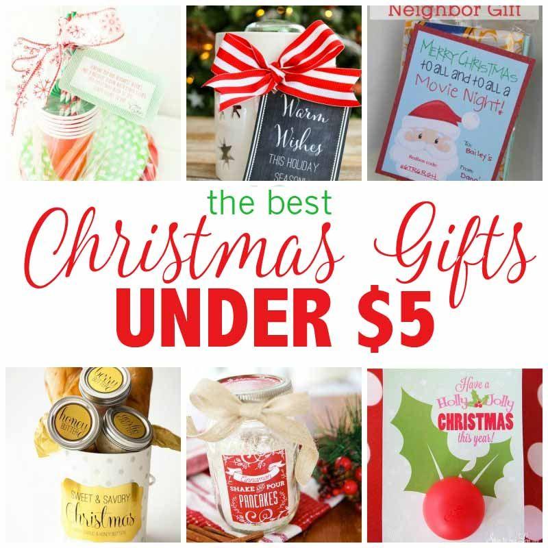 Best christmas gift ideas under $5