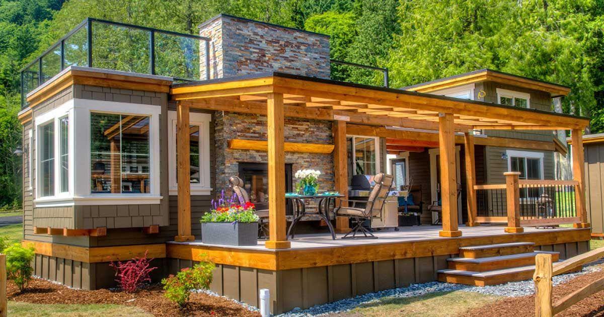 Entren en esta maravillosa casa modelo de parque diminuta - Moscas pequenas cocina ...