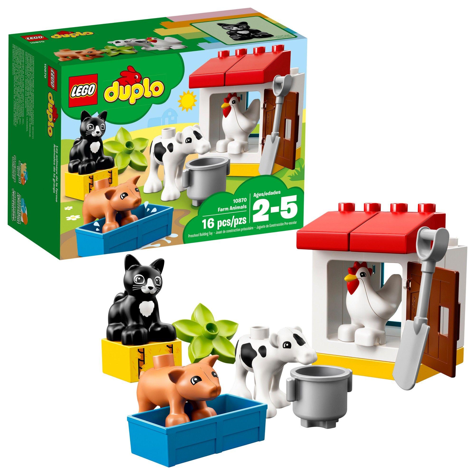Lego Duplo Town Farm Animals 10870 Products Pinterest Lego