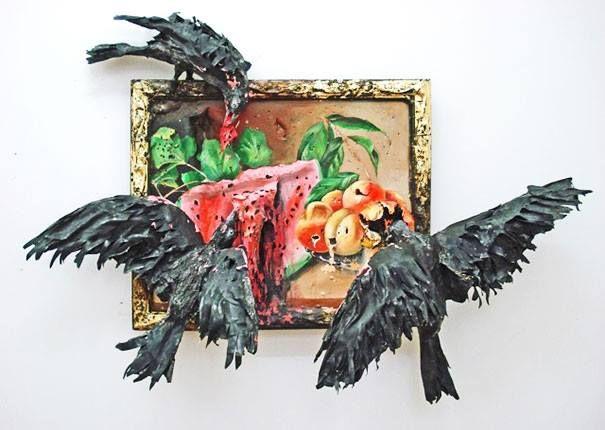 Valerie Hegarty. Not street art