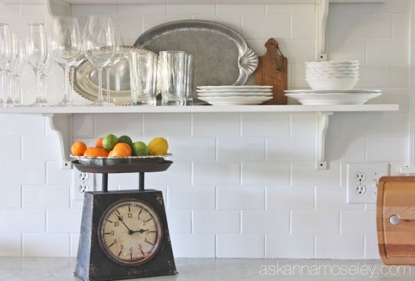 Subway tile backsplash and 3 tips to make tiling easier - Ask Anna