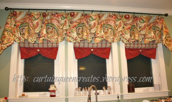 Sew or No-Sew Valance Tutorial @ Curtain Queen Creates