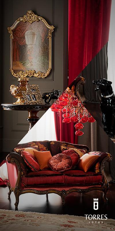 Los candelabros de cristal, siempre son la mejor opción. #InteriorDesign