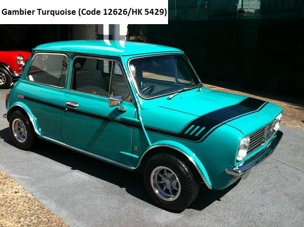 Australian Morris Leyland Mini Clubman Gt Gambier Turquoise