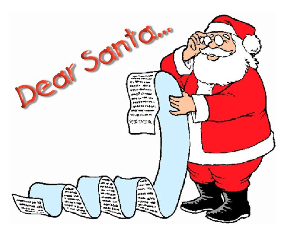 Christmas List For Plumbers Dear Santa Letter Dear Santa Santa Writing