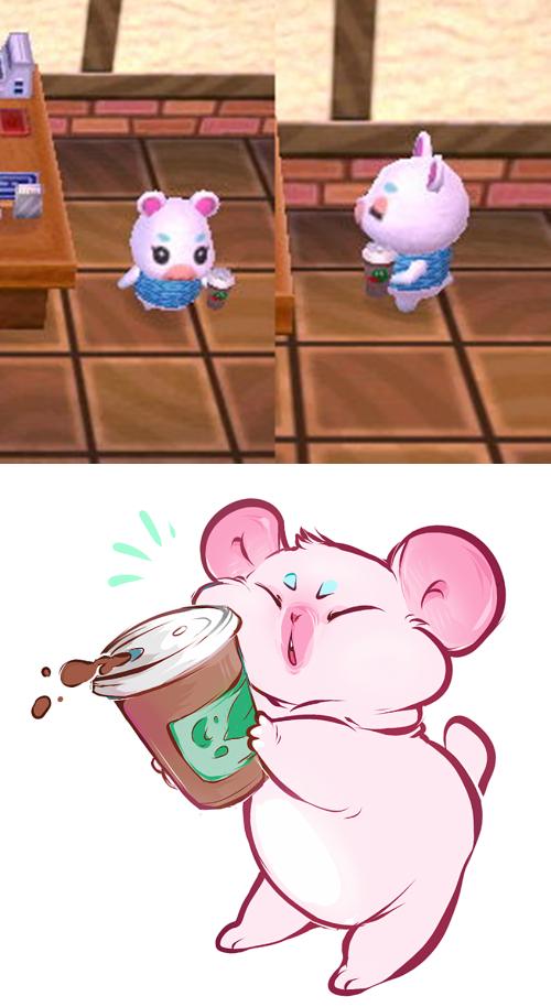Animal Crossing New Leaf Flurry Coffee