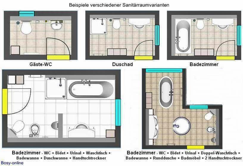 Installationsma E Damit Alles Passt Badezimmer Grundriss Badezimmer Online Planen Bodenbelag Fur Badezimmer