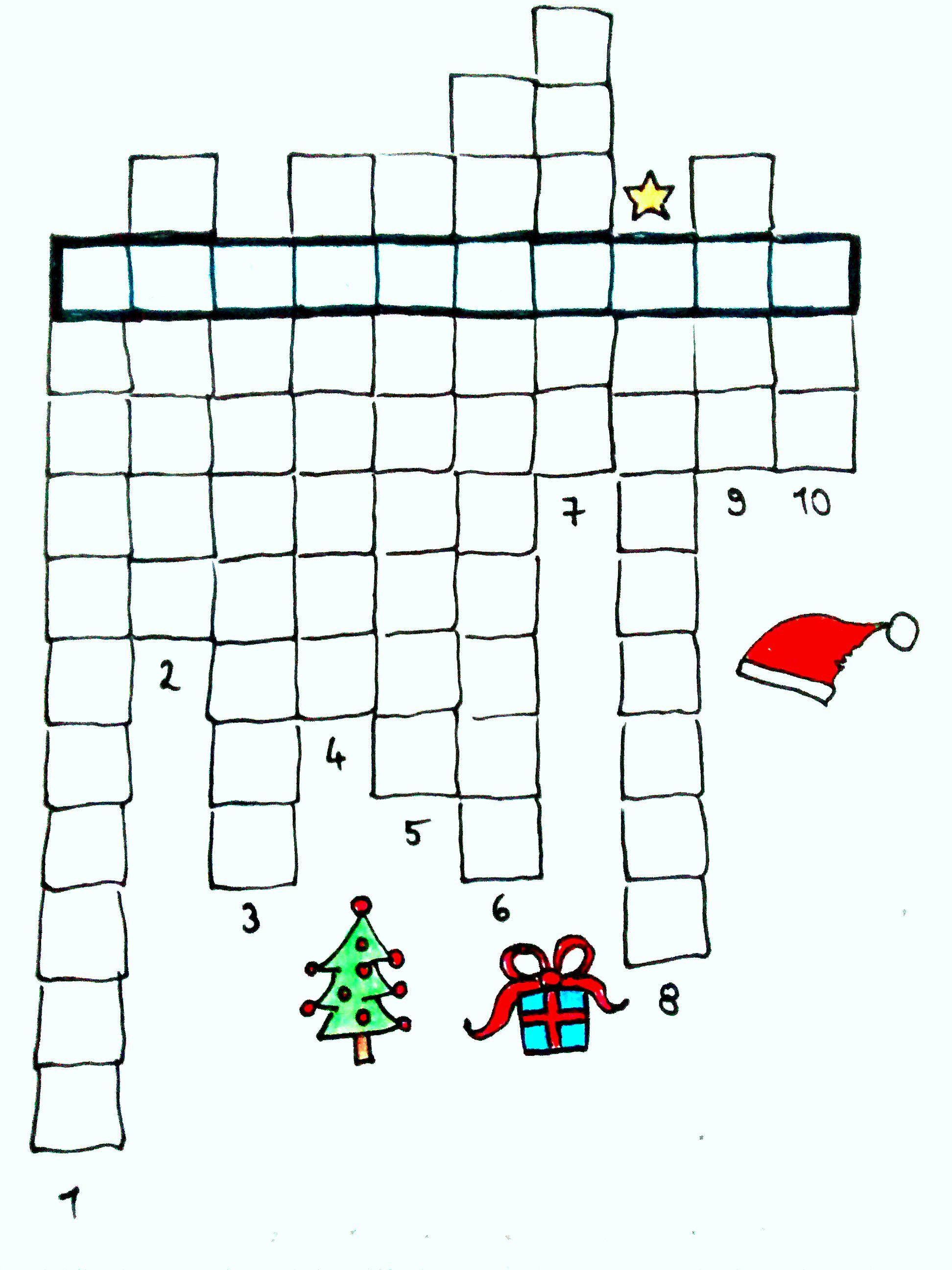 Kreuzworträtsel Adventskalender
