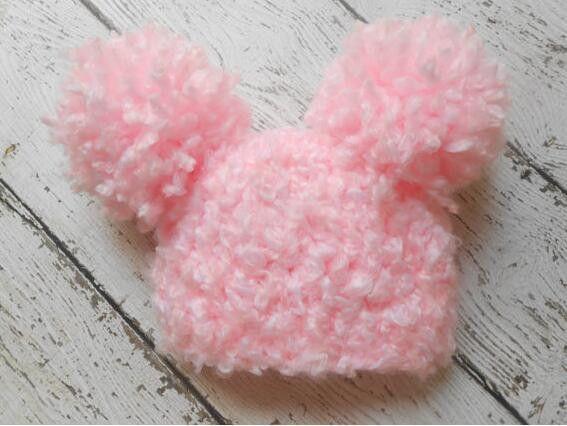 free shipping, baby Crochet Pilot Hat, Newborn Aviator Hat, , Baby ...