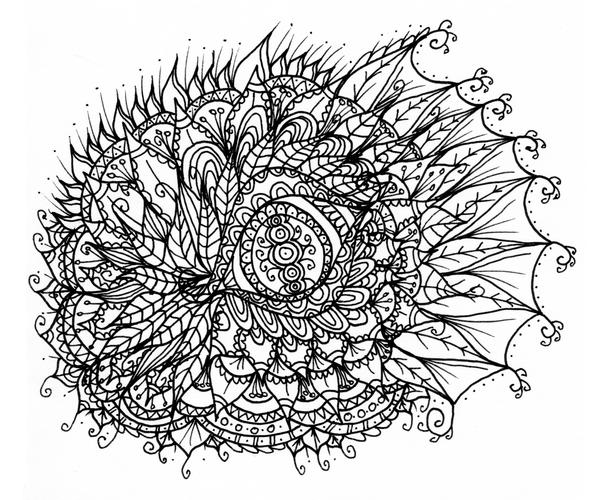 dragon eye line art doodle by welshpixie on deviantart coloring