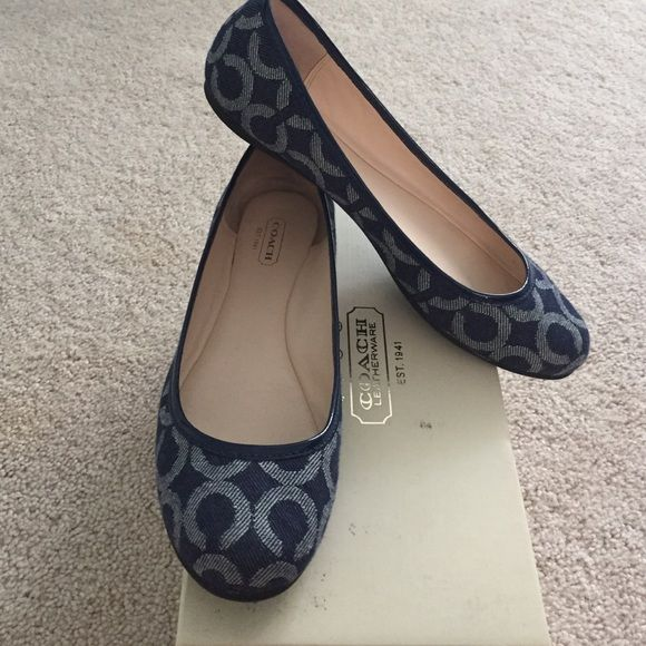 fe6be085 inexpensive navy blue coach shoes 382e7 adbd0