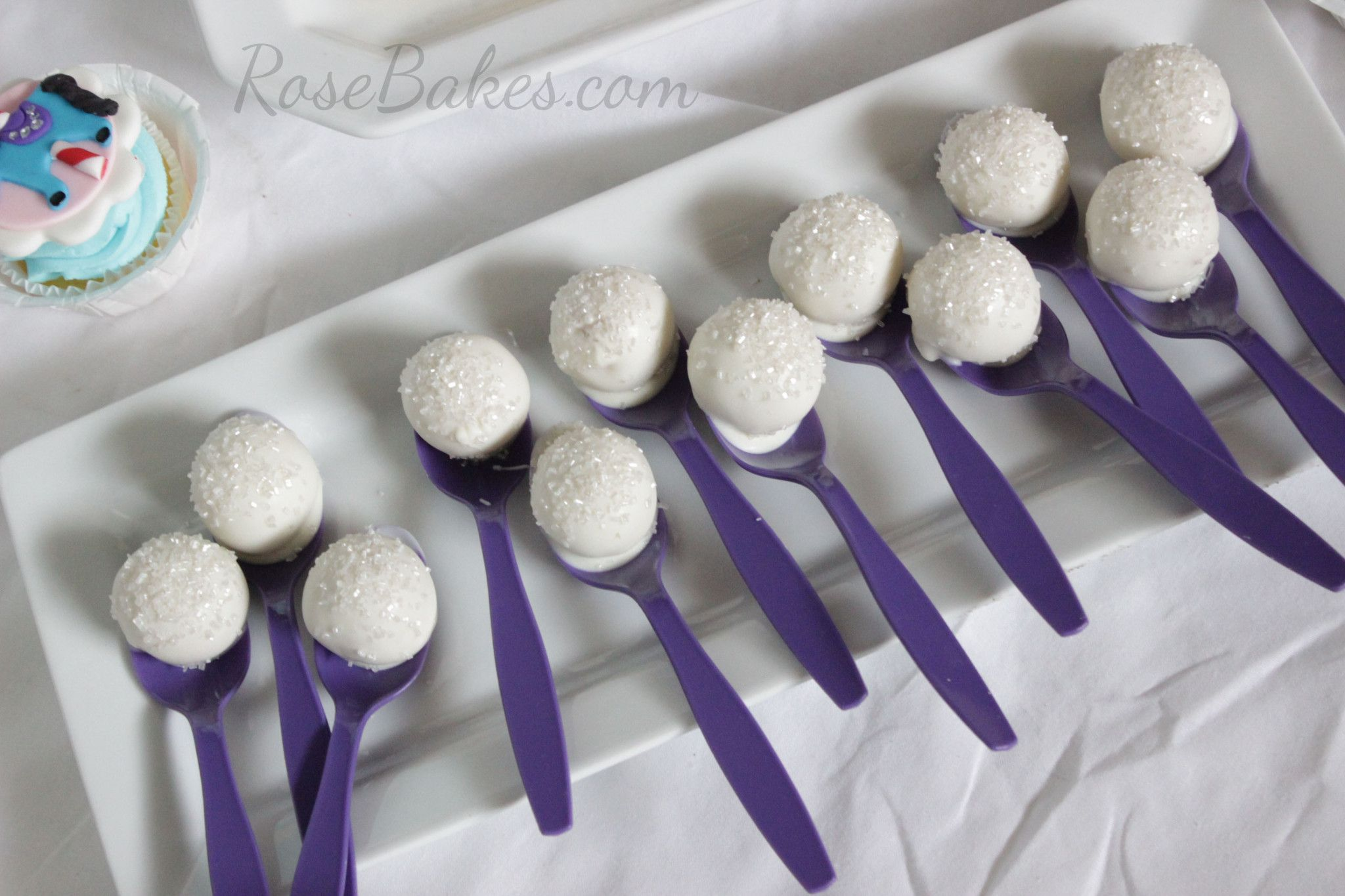 Spoonful of Sugar Cake Pops