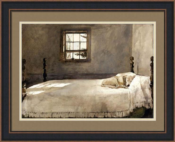 MASTER BEDROOM By Andrew Wyeth   Andrew wyeth, Andrew wyeth ...