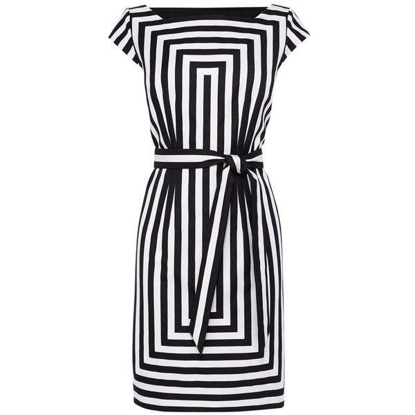 f4e60b3b5c5 Karen Millen Graphic Stripe Shift Dress