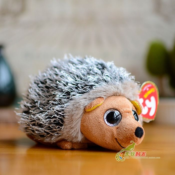 TY Beanies Plush Animals Spike Hedgehog Plush Toy 15cm 6   Cute Ty Beanie  Boos Stuffed Animal Soft Toys for Children Kids Gifts 30223636d57e