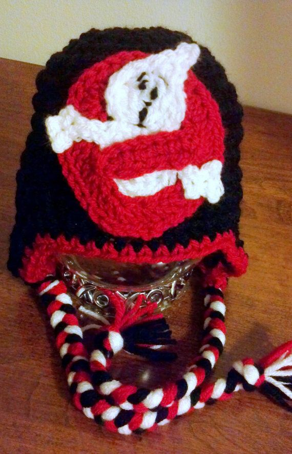 Ghostbusters inspired Hat crochet Pattern Newborn by ExpertCraftss ...