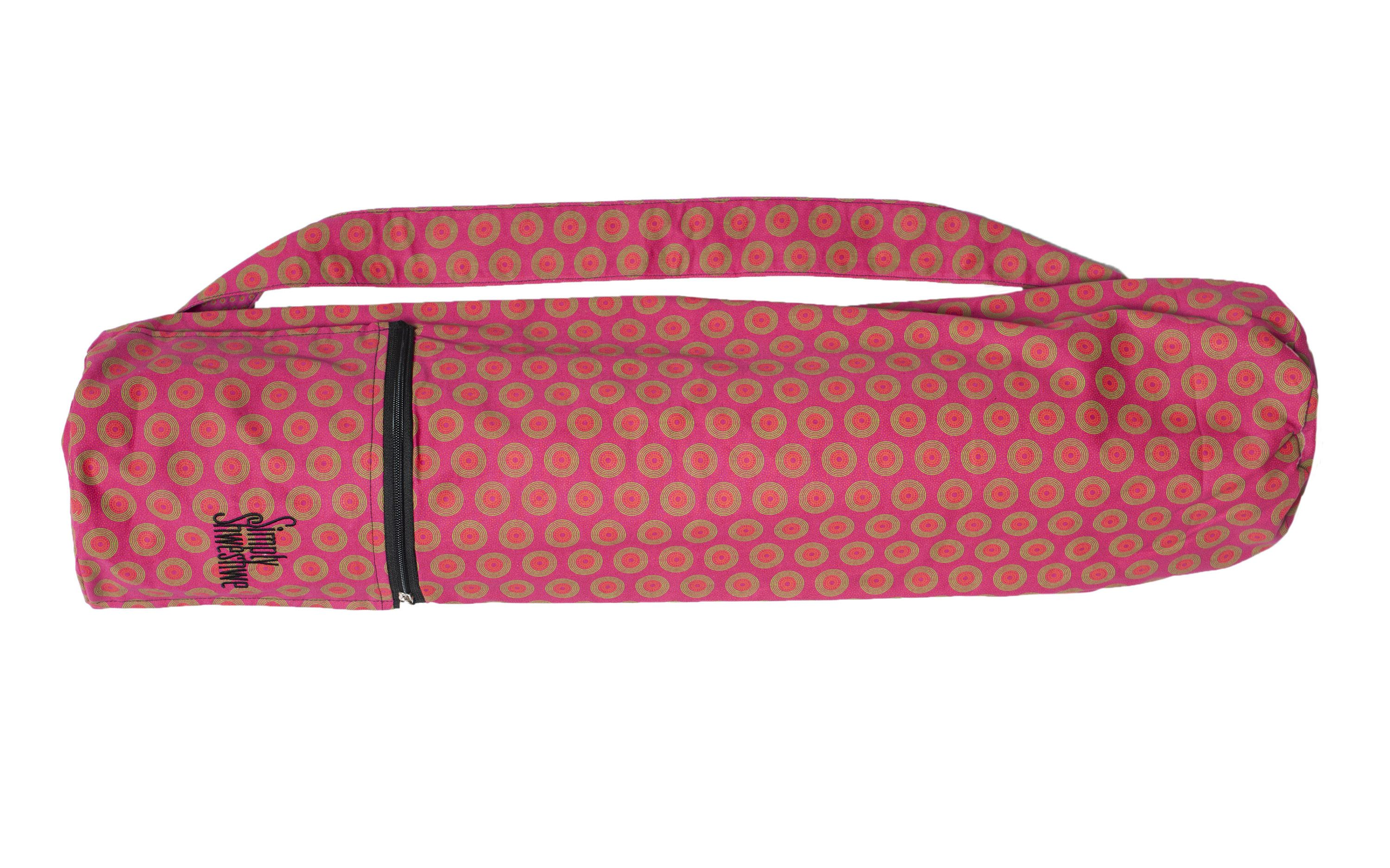 Excited to share the latest addition to my  etsy shop  Pink Yoga Mat Bag 08e90f8e604e5