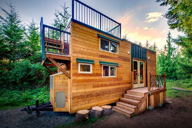 Tiny luxury the basecamp tiny house